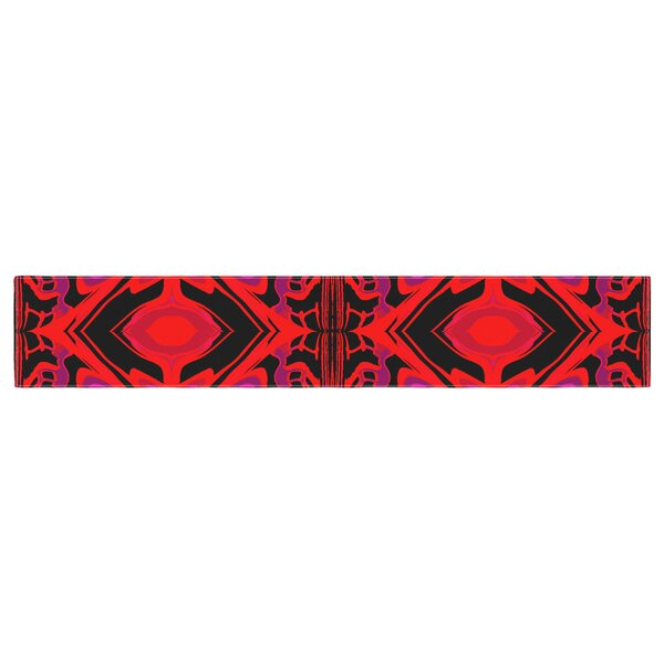 Nina May Ornament Table Runner by East Urban Home