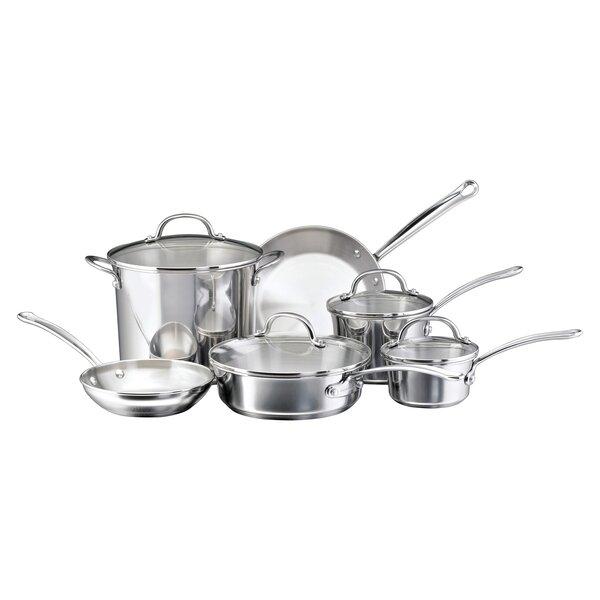 Millennium 10 Piece Cookware Set by Farberware