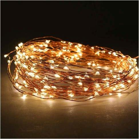 200 Warm LED Light Garland by The Holiday Aisle
