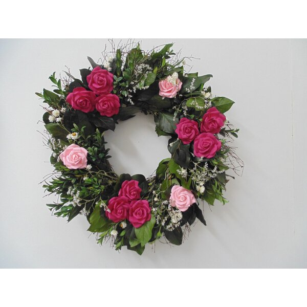 Sweetheart 22 Wreath by Dried Flowers and Wreaths LLC