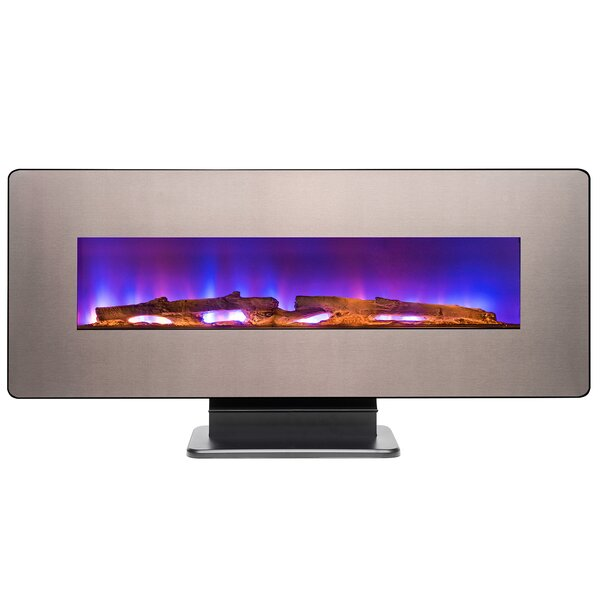 3-in-1 3D Remote Wall Mounted Electric Fireplace b