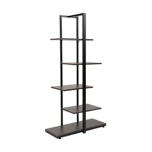Pothier 5-Tier Standard Bookcase by Ebern Designs Reviews