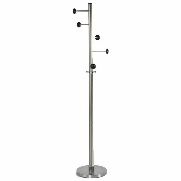 Menard Stainless Steel Trio Coat Rack by Latitude Run