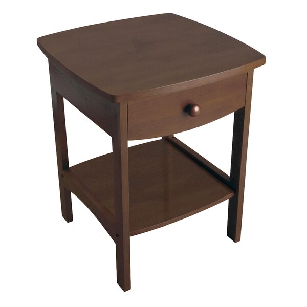 Carlton 1 Drawer Nightstand by Andover Mills