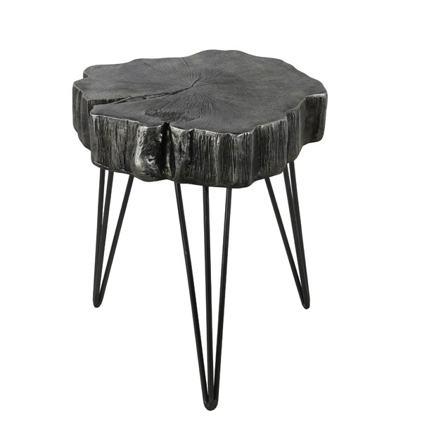 Harrington End Table by Union Rustic