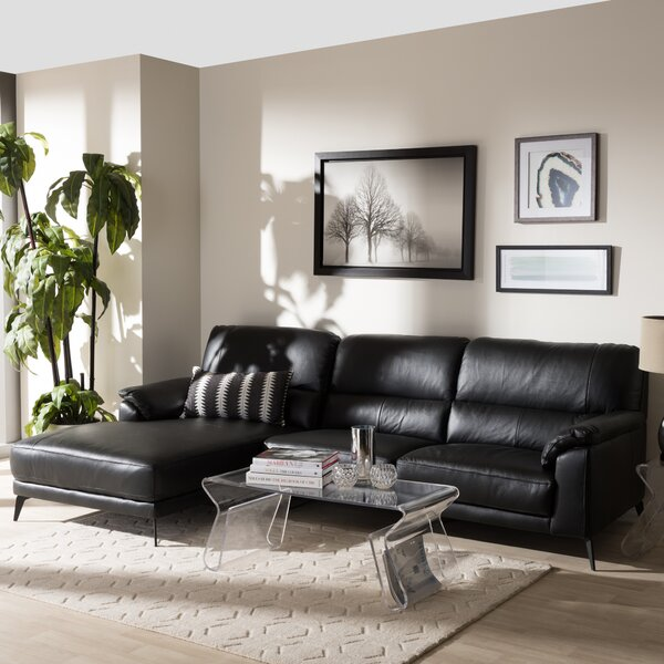 Rickman Left Facing Chaise 2-Piece Sectional by Orren Ellis