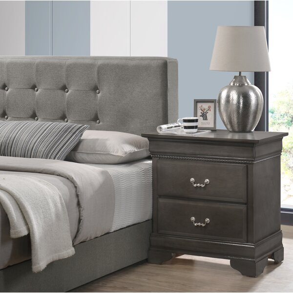 Cavender 3 Drawer Nightstand by Darby Home Co