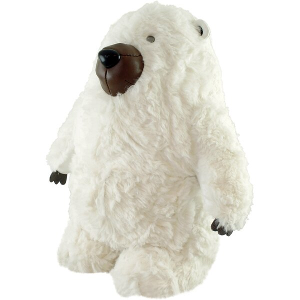 Classic Polar Bear Bookend by Zuny