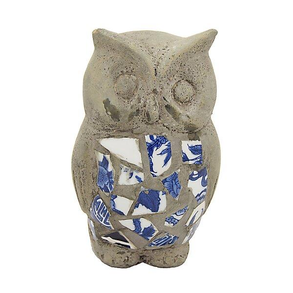 Adrian Owl Garden Decoration Figurine by Canora Grey