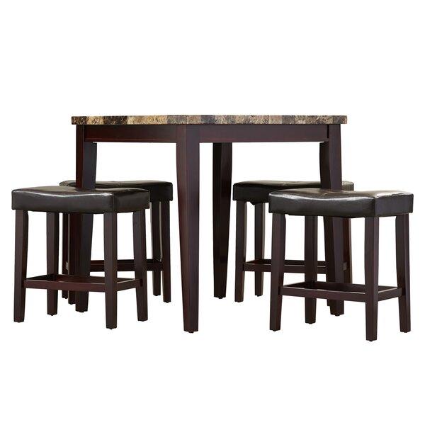 Aldama 5 Piece Pub Table Set by Andover Mills Andover Mills