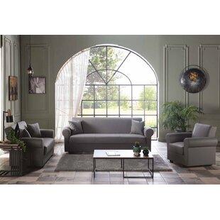 Gullian Sleeper Configurable Living Room Set by Cifelli Home