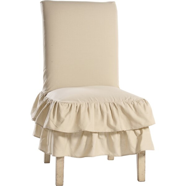 Skirted Chair Slipcover by Lark Manor