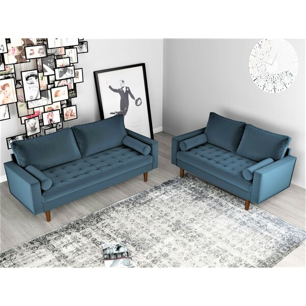 Mac 2 Piece Living Room Set by Mercer41