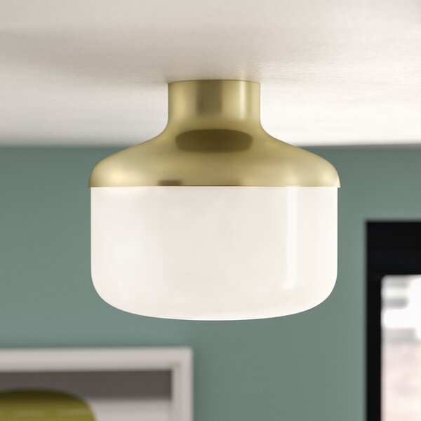 Aric 1-Light Flush Mount by Corrigan Studio