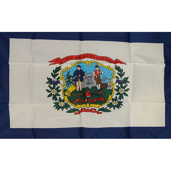 West Virginia State Traditional Flag by NeoPlex