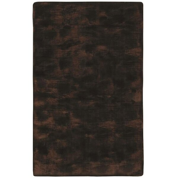 Animal Hide Brown/Black Fur Area Rug by Acura Rugs