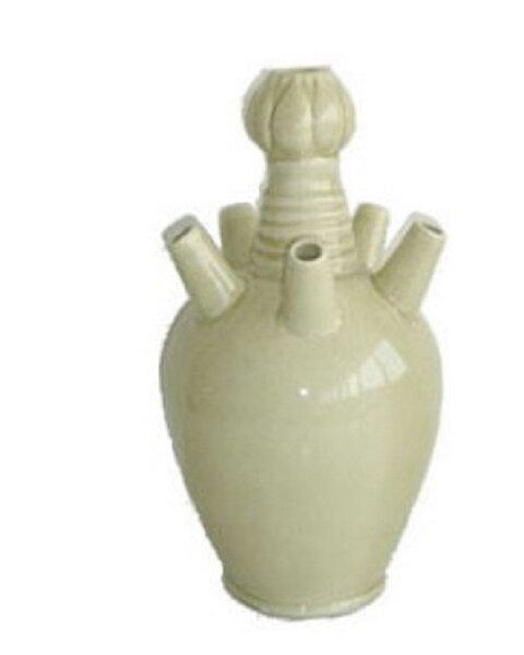 Elosie Coral Reef Ceramic Table Vase by Highland Dunes