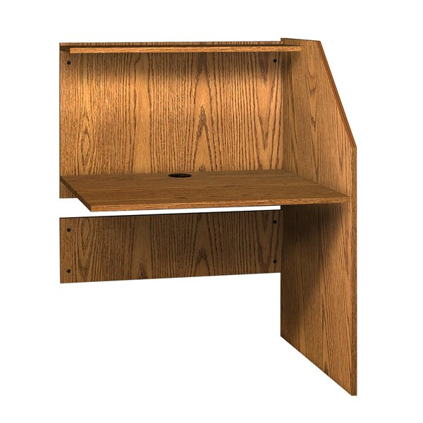 General Wood 47.88 Study Carrel by Ironwood