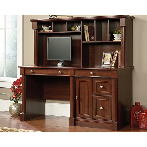 Wilhoite Computer Desk with Hutch