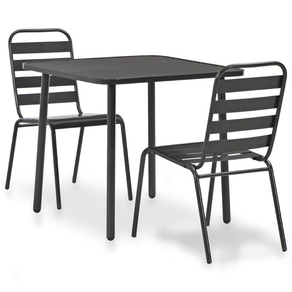 Coeburn 3 Piece Bistro Set by Williston Forge