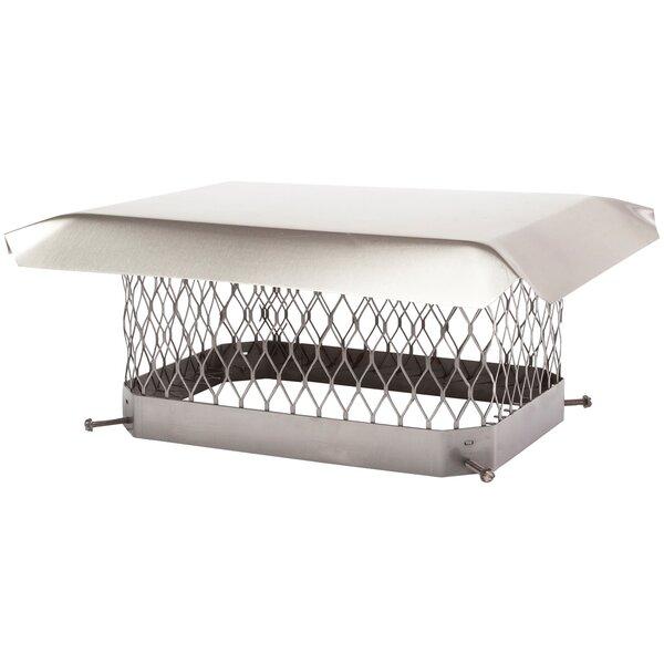 Single-Flue Stainless Steel Chimney Cap by Shelter