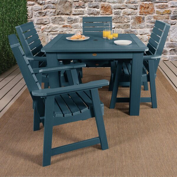 Trigg 5 Piece Bar Height Dining Set by Darby Home Co