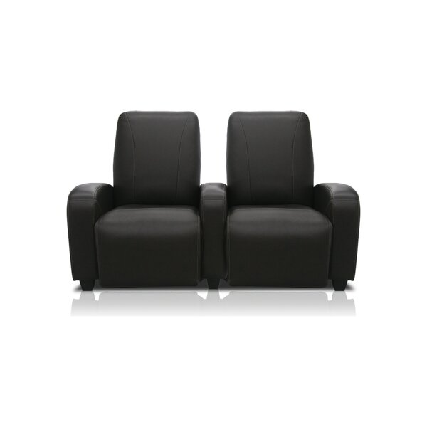 Milan Leather Home Theater Lounger (Row Of 2) By Bass