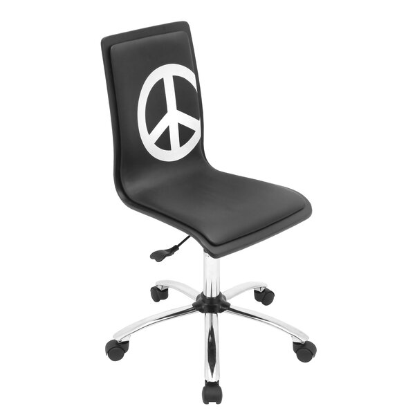 Printed Peace Desk Chair by LumiSource