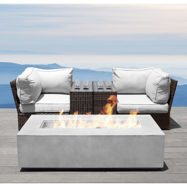 Vasil 5 Piece Rattan Sectional Seating Group with Cushions by Orren Ellis