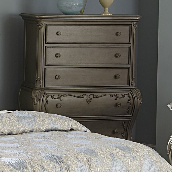 Turville 5 Drawer Chest by Astoria Grand