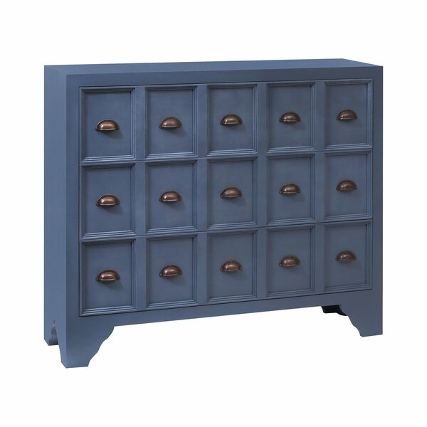 Dieppe 3 Drawer Apothecary Accent Chest