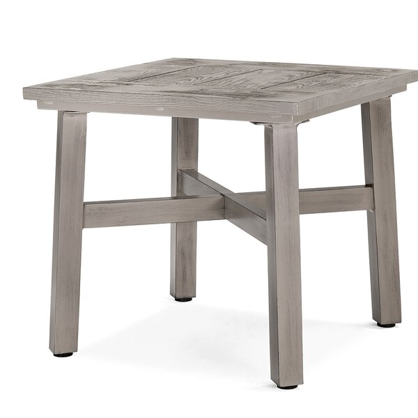 Colfax Aluminum Side Table by Blue Oak Outdoor