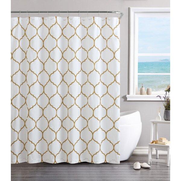 Laelia Vinyl Shower Curtain by Willa Arlo Interiors