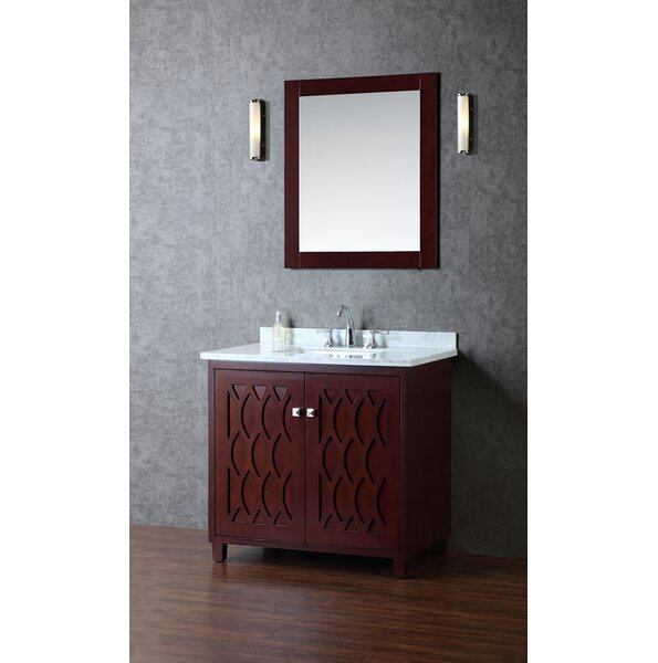 Turnberry 36 Single Bathroom Vanity Set with Mirror by Ariel Bath
