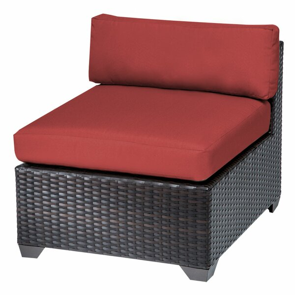 Belle Patio Chair with Cushions (Set of 2) by TK Classics