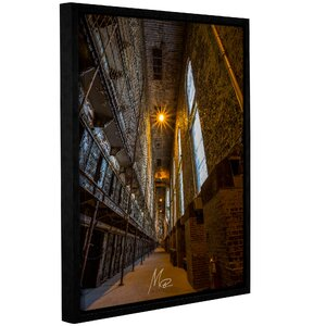 'Abandoned Prison 1' Framed Photographic Print on Canvas by Williston Forge