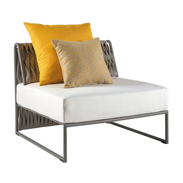 Pascarella Lounge Chair With Cushion by Bungalow Rose