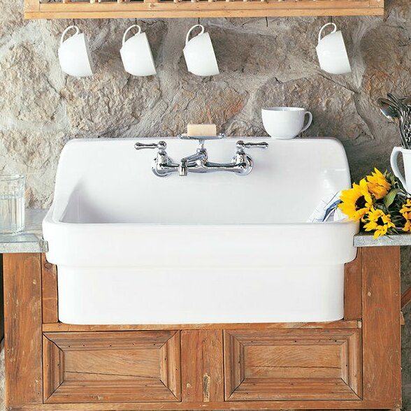 30 L x 22 W Country Kitchen Sink by American Standard