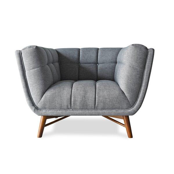 Claris Barrel Chair by Everly Quinn