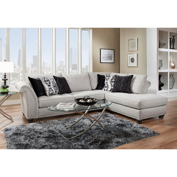 Dahlquist Right Hand Facing Sectional By Darby Home Co