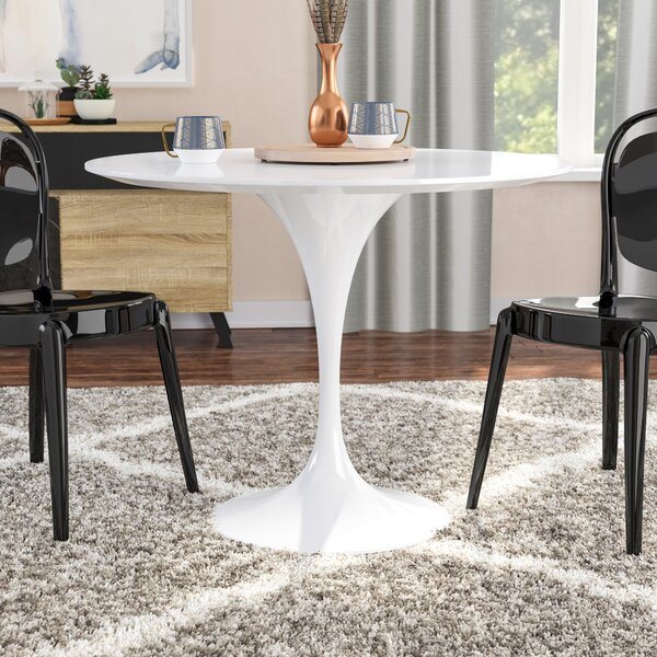 Rowland Dining Table By Orren Ellis 2019 Sale