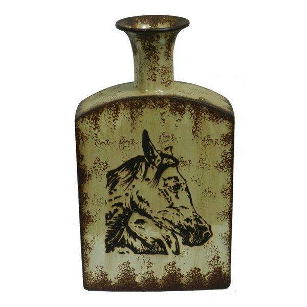 Crouse Ceramic Floor Vase by Loon Peak