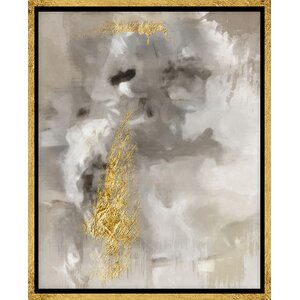 'Touch of Gold I' Graphic Art on Wrapped Canvas by