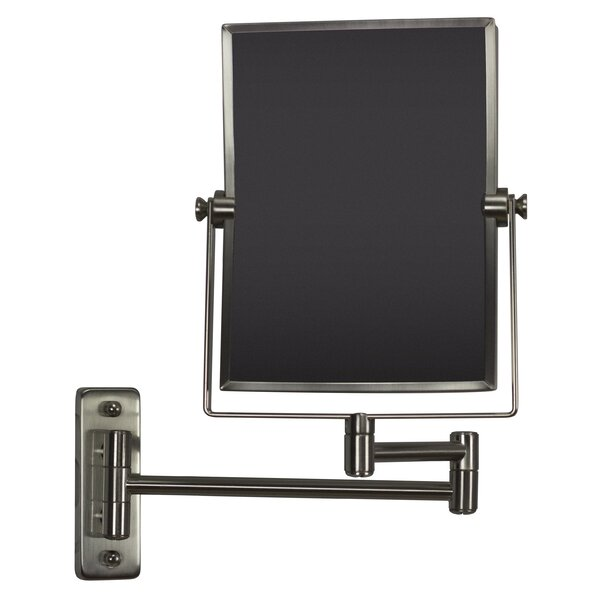 Mason Rectangle Wall Mount Magnifying Vanity Mirror by Royal Purple Bath Kitchen