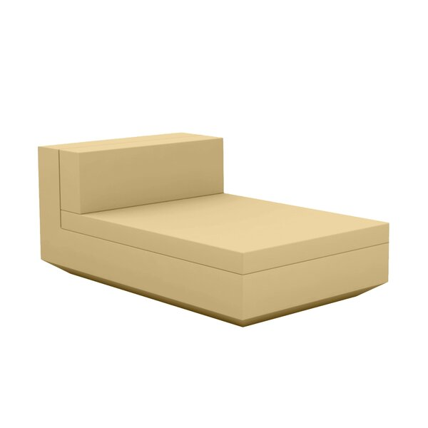 Vela Sectional Chaise Lounge with Cushion