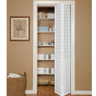 Charmant LVR/PNL Louvered PVC Bi Fold Door