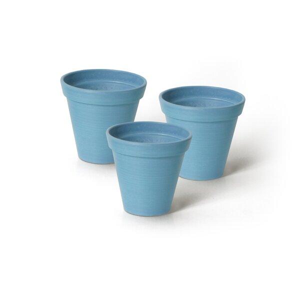Cara Composite Pot Planter (Set of 3) by Charlton Home