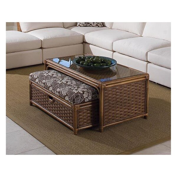 Grand Water Point Coffee Table with Bench by Braxton Culler