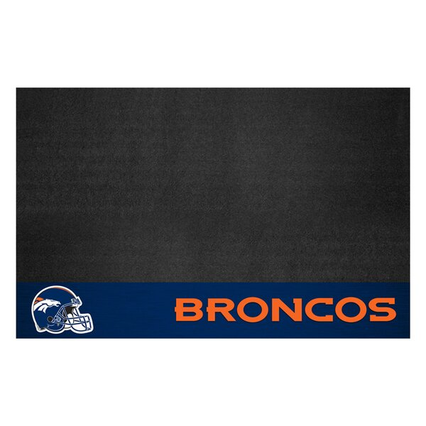 NFL Denver Broncos Grill Mat by FANMATS