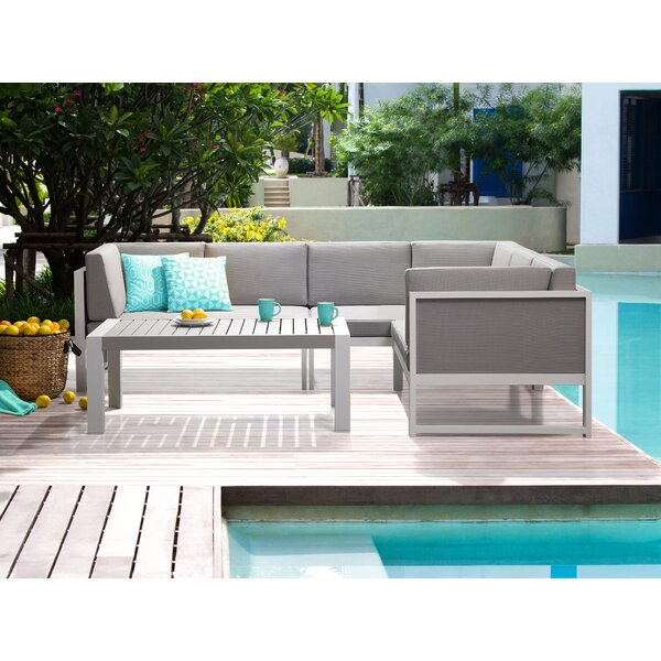 Pankey 15 Piece Sectional Set with Cushions by Orren Ellis